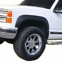 88-98 Chevrolet GMC C/K 1500 Truck Fender Flares Smooth Matte Black NEW Screw On