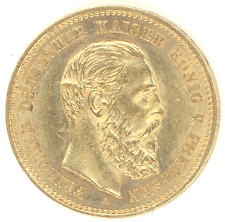 Germany Prussia 10 Marks 1888-A FRIEDRICH III Brilliant Uncirculated gold coin