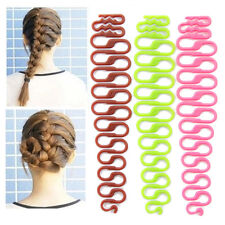 2PCS Fashion Hairstyles Design Tools Fishbone Braid Maker DIY Hair Styling Tool
