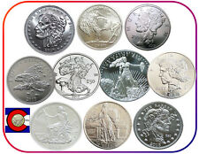 ZOMBUCKS -- complete 10 coin set in airtites -- Walker to Saint -- 0.999 silver