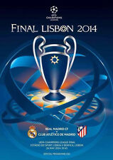 * Real Madrid V Atletico Madrid - 2014 UEFA CHAMPIONS LEAGUE finale del programma (*)