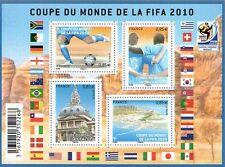 BLOC TIMBRES F4481 NEUF XX  LUXE - COUPE DU MONDE DE LA FIFA 2010