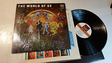 The World Of Oz Self Titled 1969 Deram Stereo us LP w/shrink pop psyche gem RARE