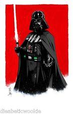 Star Wars Darth Vader Stormtrooper SDCC art print movie poster Tom Hodges RARE