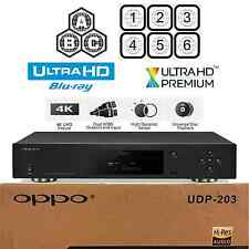 OPPO DIGITAL UDP-203 MULTI REGION CODE FREE 4K ULTRA HD UHD BLU-RAY PLAYER NEW