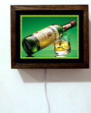 Jameson Whiskey Irish Pub Bar Tavern Bottle Man Cave Alcohol Light Lighted Sign