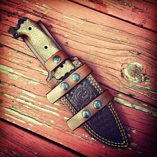 Custom Hand Made Leather Sheath For Busse ASH 1 or Scrap Yard Trash 1