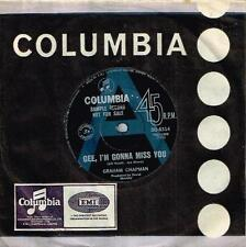 """GRAHAM CHAPMAN - GEE, I'M GONNA MISS YOU - RARE 7"""" SAMPLE RECORD 1968 OZ PSYCH"""