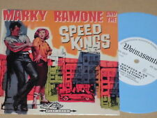 """MARKY RAMONE AND THE SPEED KINGS -Speedkings Ride Tonight 7"""" colored Vinyl 45 nm"""