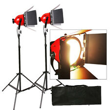 Rhkitn2 REDHEAD 1600W 800W × 2 VIDEO STUDIO RED HEAD VIDEO LIGHTING 2set