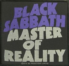 "BLACK Sabbath ricamate/Patch # 25 ""Master of Reality"""