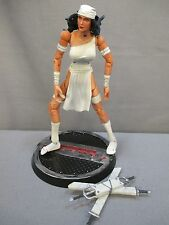 "Marvel Urban Legends ""ELEKTRA"" White Action Figure 100% Complete Toy Biz Box Set"