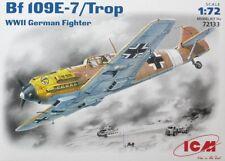 Avion de chasse Allemand MESSERSCHMITT BF 109E-7/Trop. - KIT ICM 1/72 - N° 72133