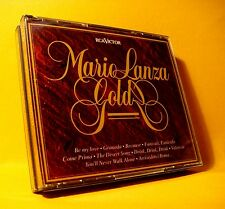 NEW CD Double Mario Lanza Gold 37TR (2XCD) 1994 Easy Listening Pop Jazz RARE !