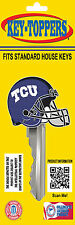 "Texas Christian University ""Football Helmet"" Key Toppers"