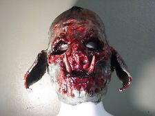 Pig Mask Swine Pork Boar Bacon Haunt Horror Evil Killer Clown Farm Hillbilly 666