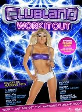 Clubland Work it out DVD Fitness Workout Training New and Sealed UK Release R2