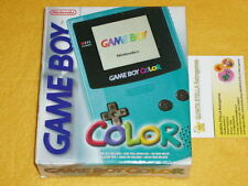 CONSOLE NINTENDO GBC GAME BOY COLOR NUOVA NEW RARISSIMA VERY RARE + GIOCO e ...