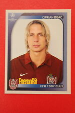 PANINI CHAMPIONS LEAGUE 2008/09 # 228 CFR 1907 CLUJ DEAC BLACK BACK MINT!