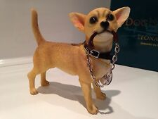 Walkies Chihuahua Dog Ornament Figurine Figure Gift Present