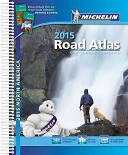 Michelin North America Road Atlas 2015 (Atlas (Michelin)), Michelin, New Book