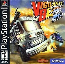 ***VIGILANTE 8 2ND OFFENSE PS1 PLAYSTATION 1 DISC ONLY~~~