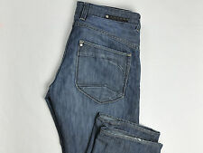H&M BRAGG Mens Jeans Fitted Straight 36X36 (FIts: 36X34)