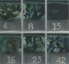 "Lost Season 1 - ""Numbers Die Cut"" 6 Card Chase Set"