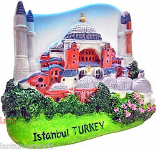 Istanbul Turkey Hagia Sophia Church Refrigerator 3D Fridge Magnet