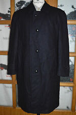 Steinbock Himalaya Austrian ORIG TIROLER LODEN NAVY Wool OVER COAT men 44 46 Lrg