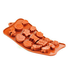 Silicone Chocolate Mould Tray Round Icing Craft Cake Jelly Baking Ice Toys