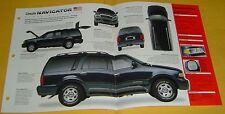 1998 1999 Lincoln Navigator SUV V8 5.4 L MPSFI IMP Info/Specs/photo 15x9