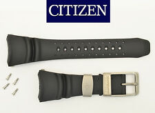Citizen Eco-Drive PROMASTER DIVERS watch band STRAP  BLACK rubber  BJ8044-01E