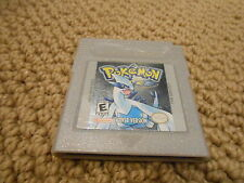 POKEMON SILVER Game Boy Gameboy Color Game Cart - SAVES!