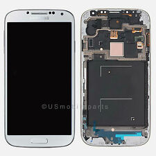 USA OEM White Samsung Galaxy S4 i9505 i337 M919 LCD Display Touch Screen + Frame