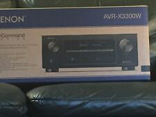 DENON AVR-X3300W 7.2 CHANNEL FULL 4K ULTRA HD A/V RECEIVER A/V BLUETOOTH WI-FI