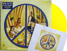 PEACE LP Happy People YELLOW Vinyl + Downloads NEW & SEALED