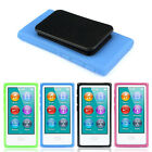New TPU Rubber Gel Soft Case Cover Belt Clip For iPod Nano 7 7G 7th Gen In Stock