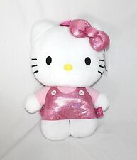 "15"" Plush large Hello Kitty collectible backpack Pink Holographic rave edm edc"