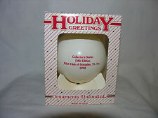 1998 Holiday Greetings Unlimited Fifth Edition Pilot Club Of Gonzalez Tx.