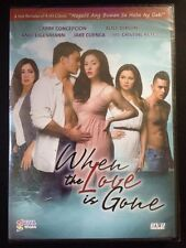 When The Love Is Gone Filipino Dvd