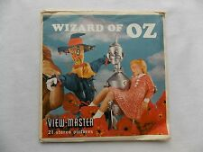 Wizard of Oz   View Master  Packet  1962