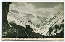 Dead Horse Gulch WP & Y Railroad Alaska 1910c postcard