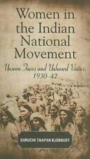 Women in the Indian National Movement: Unseen Faces and Unheard Voices-ExLibrary