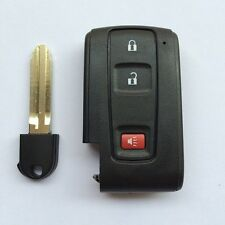 Keyless Smart Remote Key Shell Case Fob 2+1 Button For Toyota Prius 2004-2009