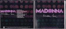 MADONNA - FORBIDDEN LOVE REMIX CD PROMO DANCE POP