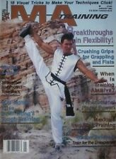 1/93 MA TRAINING MAGAZINE  HARLAN LEE IRON RING KARATE KUNG FU MARTIAL ARTS