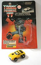 Transformers G1 Antex Robocar Camaro Yellow Windcharger Argentina Variant