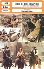 FICHE CINEMA FILM USA Buck et son complice /Buck and the preacher Sidney Poitier