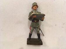 B456/    Lineol Soldaten Figur 2 Wk. von ca. 1935